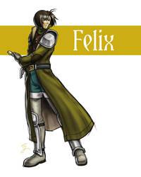 Adult Felix 2 by Sora-G-Silverwind