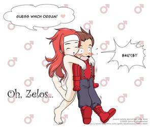Oh, Zelos by Sora-G-Silverwind