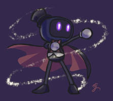 Bomberrequests 2017 - Magician Bomber by Sora-G-Silverwind