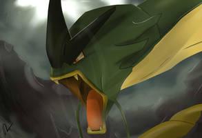 Pokemon Gyarados Silvestre by Sorocabano