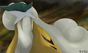 Pokemon Raikou Silvestre by Sorocabano