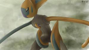 Pokemon Deoxis by Sorocabano