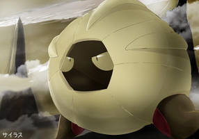 Pokemon Shelgon by Sorocabano