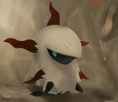 Pokemon Larvesta by Sorocabano