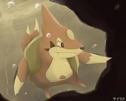 Pokemon Floatzel by Sorocabano