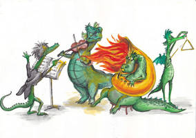 Dragons by Stanna11