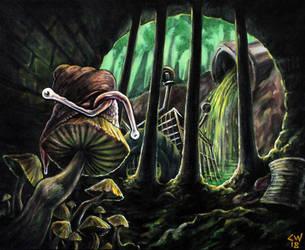 Sludge Snail by LordCraigus