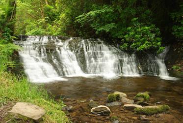 Small waterfall at Glencar by Sloma