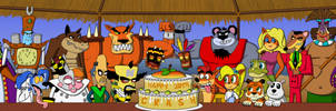 Crash Bandicoot 20th Anniversary Celebration by fretless94