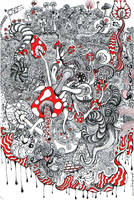 Mushroom Kingdom by Adrift-Dreams