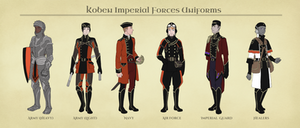 AA: Koben Imperial Forces Uniforms by 2StreetsDown
