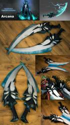 Phantom Assassin Arcana blades by RubeeAmadare