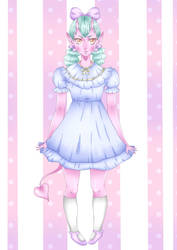Kawaii Oni by Heba-chan