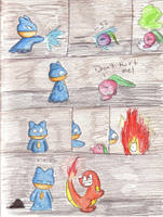 Pokemon Mystery Dungeon by Psychodragoncat