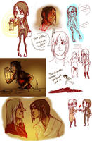 Amnesia sketches by BarkingSpiders