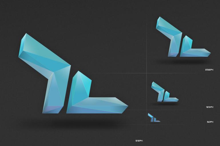 Crystalized logo by dan-Es
