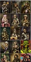 Brunelleschi Player Portraits by DarrenGeers