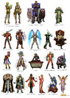 Loreaon Character Customs by DarrenGeers