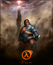 Gabe Newell - Half Life 3 by DarrenGeers
