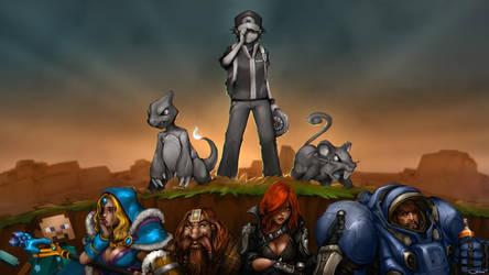 Twitch Plays Pokemon by DarrenGeers