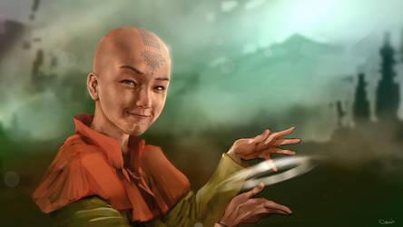 Avatar Aang by DarrenGeers