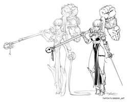 Elf Concept by DarrenGeers