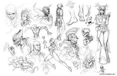 Stream sketch 13 by DarrenGeers