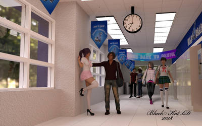 Back to School by black-Kat-3D-studio