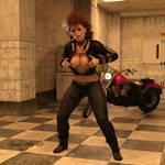 Badass Betty by black-Kat-3D-studio
