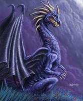 Blue Dragon by BillCorbett