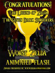 Zelda Linked Green's first trophy by spikerman87