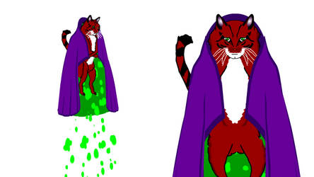 Zarvas the Esper Cat by spikerman87