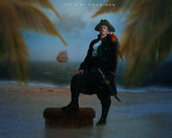 Pirate in the farest island by Viramidon