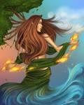 Mother Earth by daniellesylvan