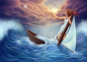 Lost at Sea by daniellesylvan