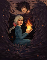 Howl's Moving Castle by daniellesylvan