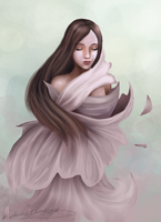 Flower Maiden by daniellesylvan