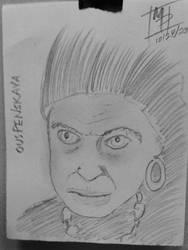 Drawloween 2018 Oct28 - The Gypsy Woman by MistahPete