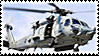 Seahawk Helicopter Stamp by Anti-Bumblebee
