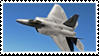F-22 Stamp by Anti-Bumblebee