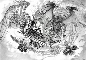 War in Heaven Tribute by BobBobuszko