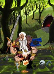 Warhammer dwarf by BobBobuszko