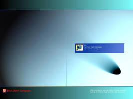 My XP Logon screen FANCY by KramMarkio