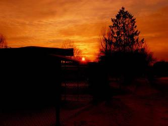 red sun by Amenti90