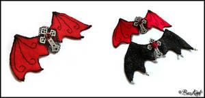 Dragon Wings, hair clips by BaziKotek