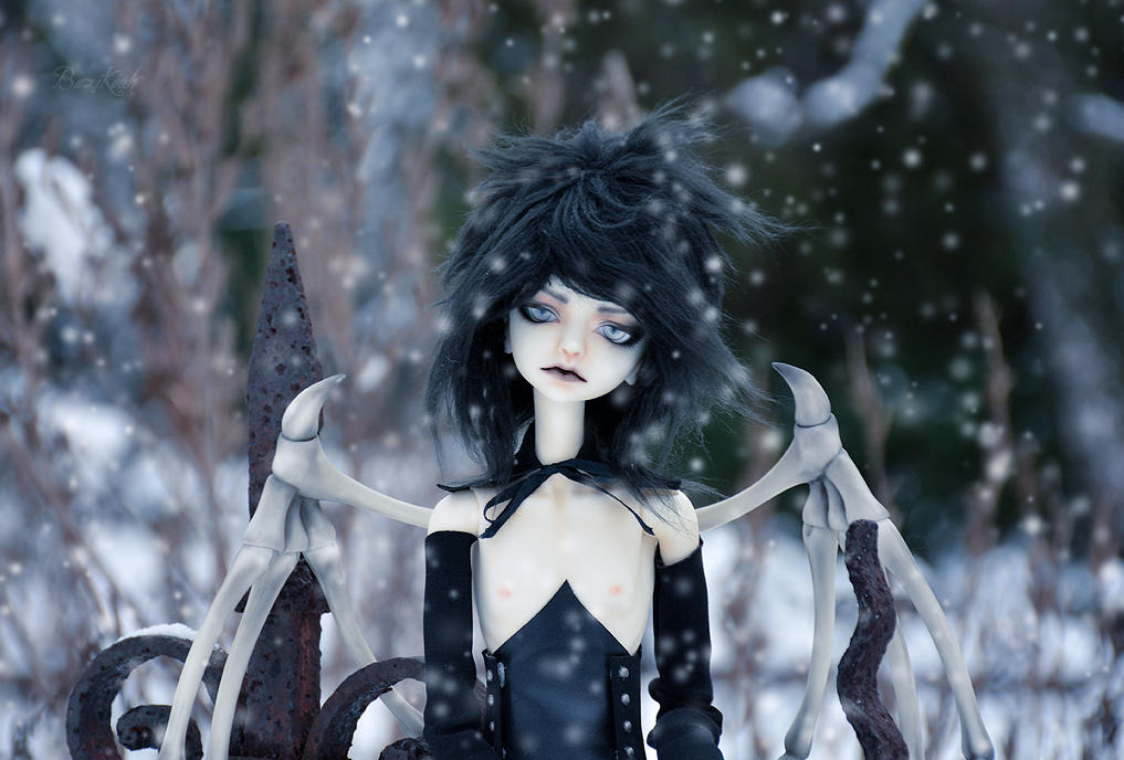 Demonic snow by BaziKotek