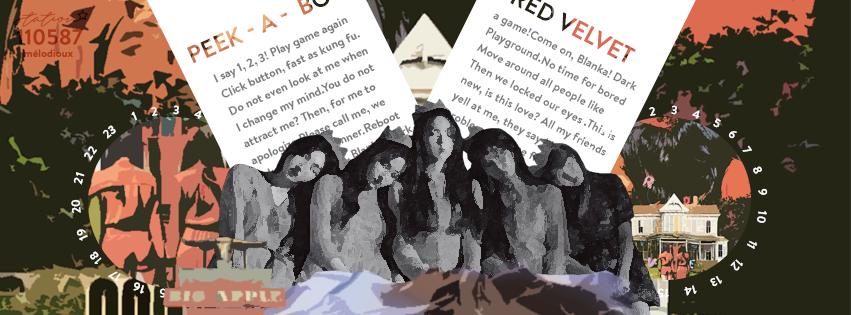 peek - a - boo . Red Velvet by monbebe2075