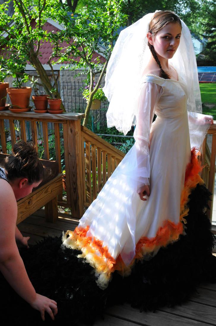 Katniss Wedding Dress 4 By Alissie On Deviantart