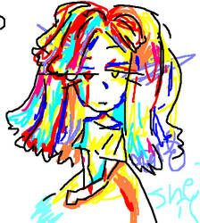 Portrait A Child by cryingdolly666