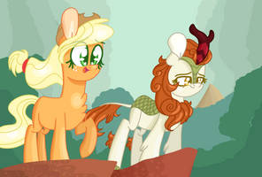 MLP Sounds of Silence Scene Redraw by ShootingStarThePony